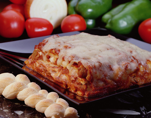 Lasagna with Italian Meat Sauce served by Affordable Catering in Bartow